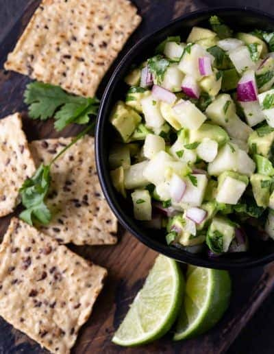 Jicama Avocado Salsa