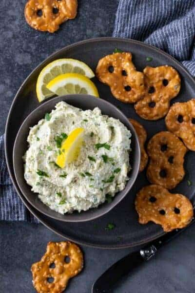 Lemon Artichoke Dip Recipe