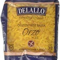 Delallo Gluten Free Corn &vRice Pasta Orzo