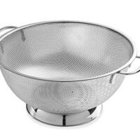 Micro-perforated Stainless Steel 5-quart Colander