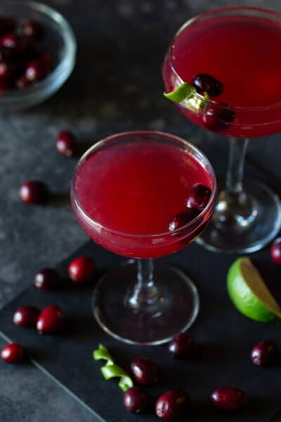 Cranberry Vodka Gimlet cocktail recipe