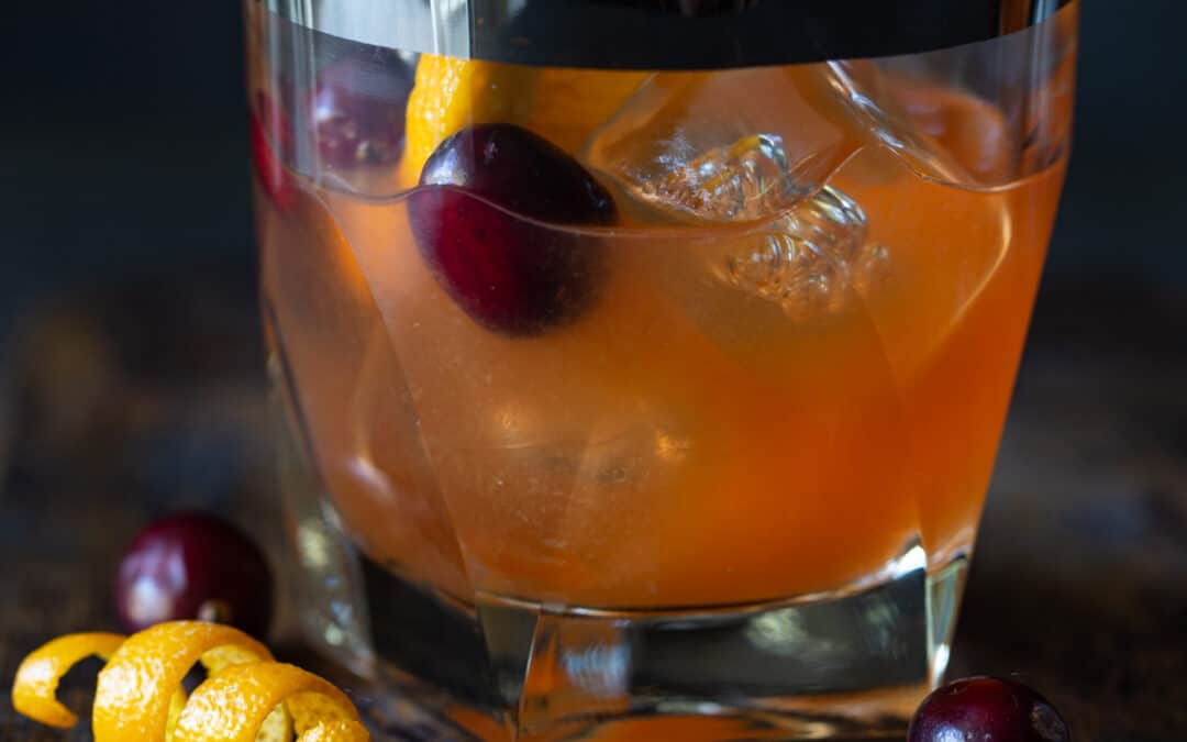 Easy Cranberry Whiskey Sours Recipe