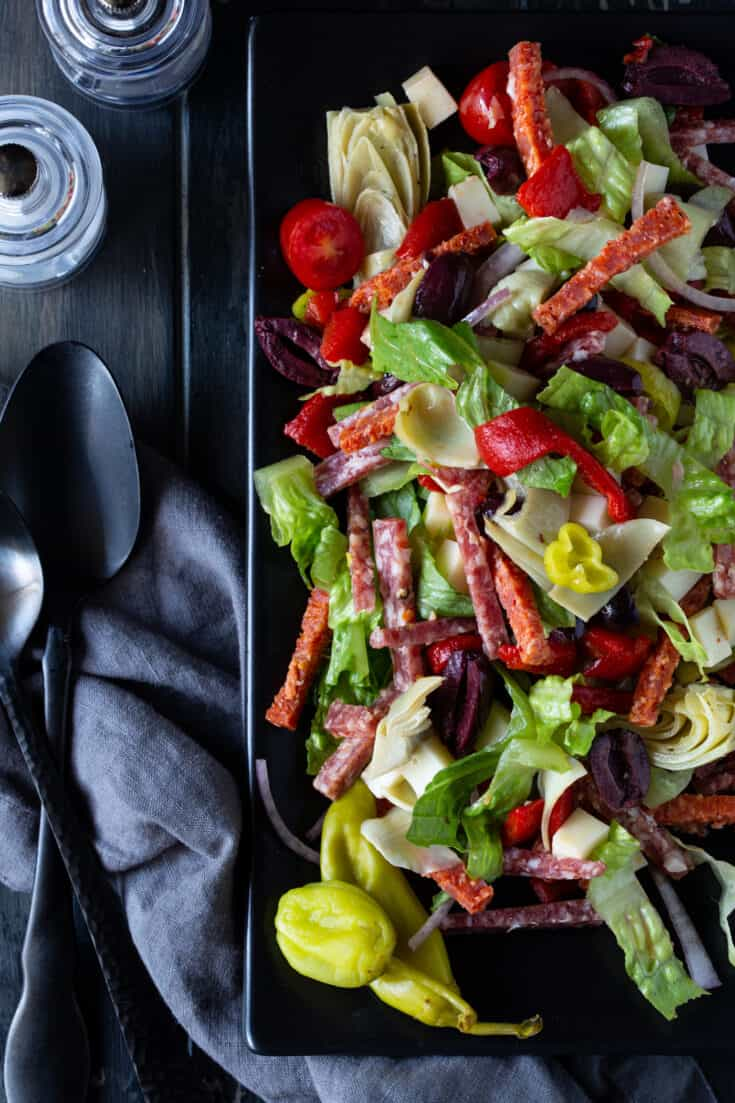 Antipasto Salad with Red Wine Vinaigrette