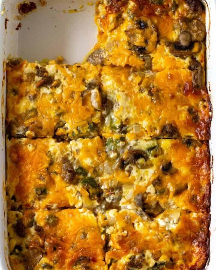 featured image of breakfast casserole