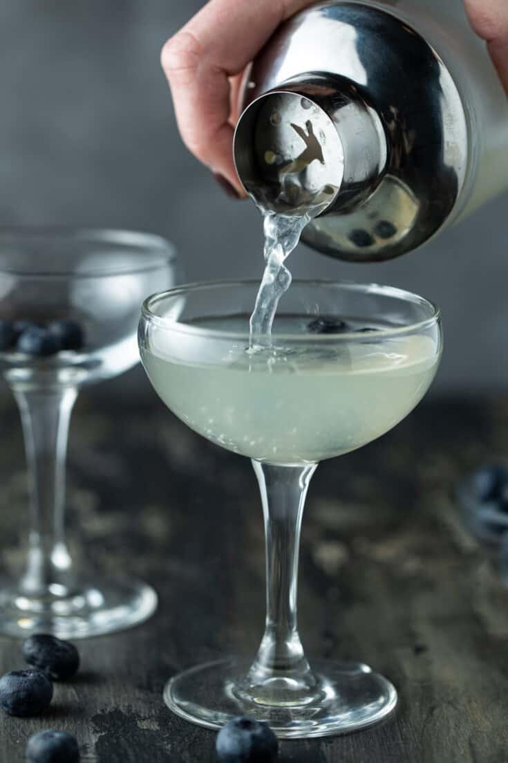 Blueberry Vodka Martini Recipe