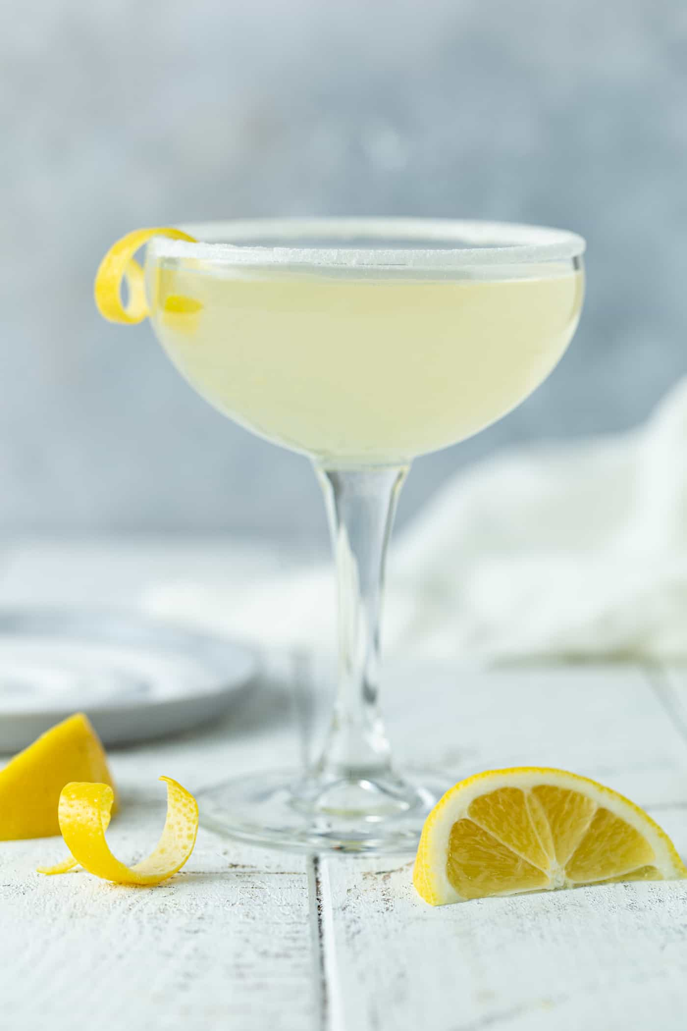 Elderflower Lemon Drop Martini Recipe