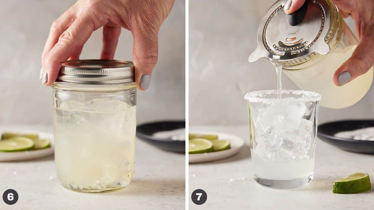 classic margarita steps 6 and 7.