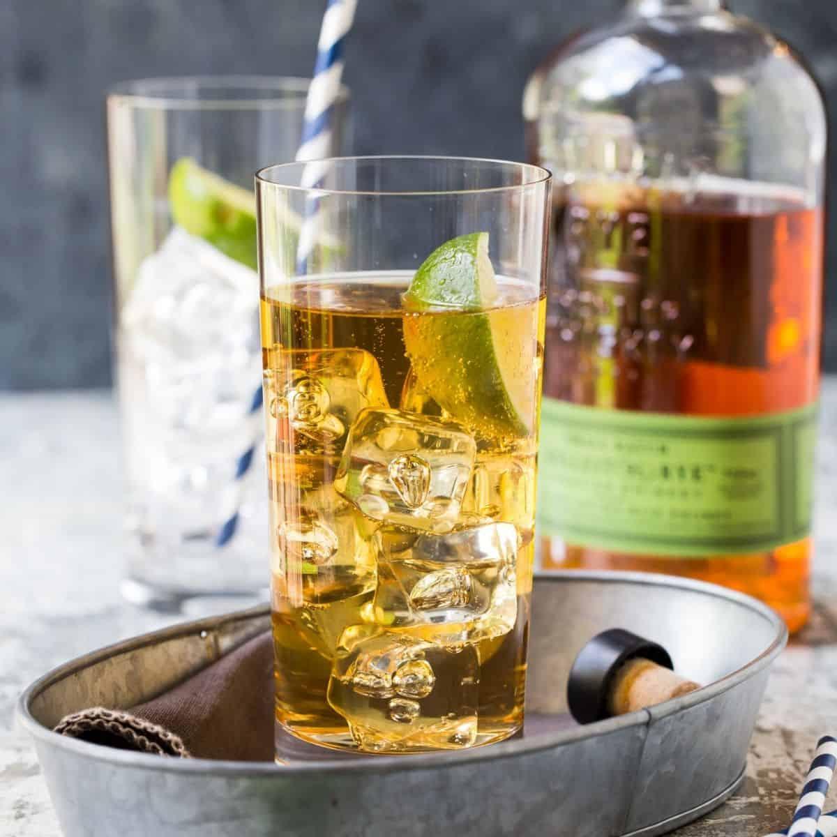 Whiskey Ginger Cocktail