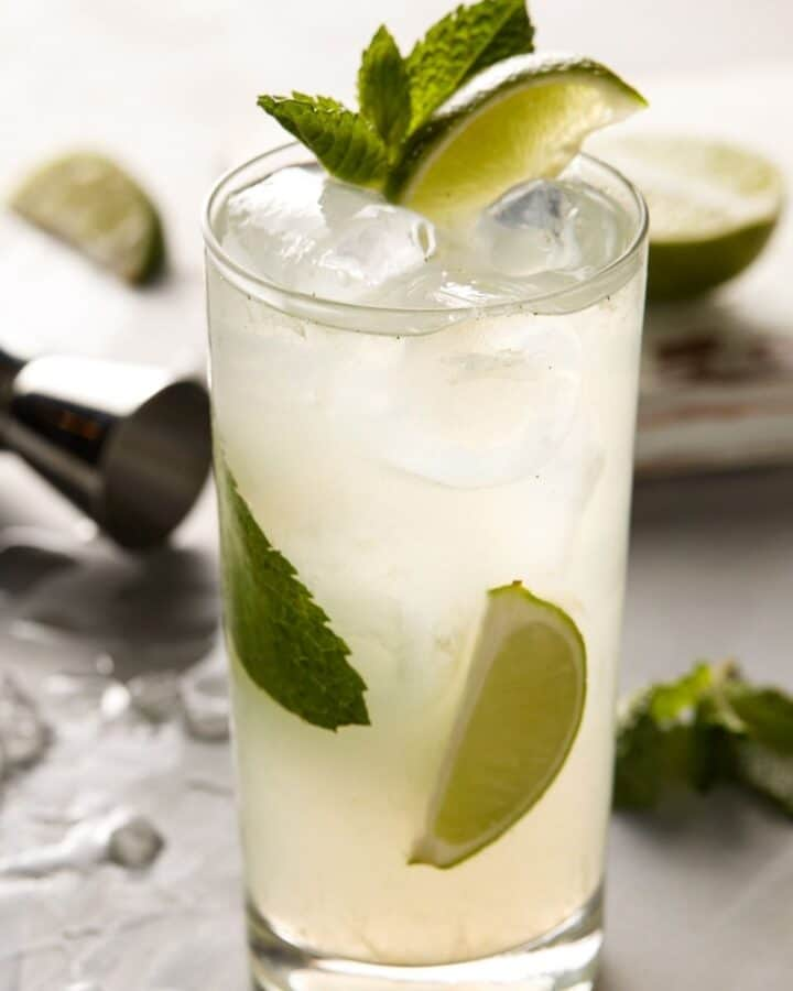 featured image of tequila mojito